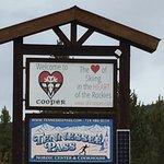 Entrance to Ski Cooper