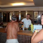 The bar with friendly staff