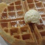 Yummy waffle