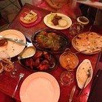 A scruptious table of Sitar fare