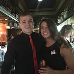 Greg and Rebecca are great hosts and bartenders. We came during happy hour, the food specials ar