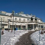 Winter view of the Manoir Montmorency