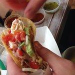 Pescado taco is as legit as it gets