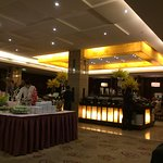 Breakfast buffet dinng area