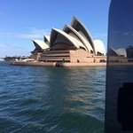 View of the Opera House, as the ferry passes by.