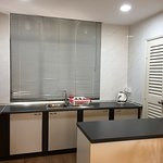 Kitchen, Sufficient amenities as a serviced apartments.