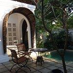 the villa patio
