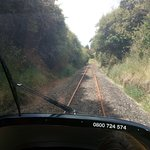 A view as we cruised down the track