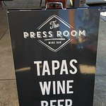 The Press Room Wine bar