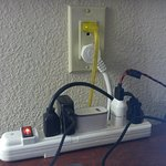 Advice- Bring 2 strip outlets if you have elec devices to charge or utilize