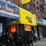 The queues outside the tiny, but outstanding Naruto Ramen NYC