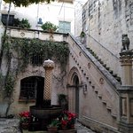 Courtyard of the Palazzo Falson