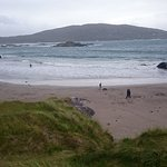 Derrynane beach , fifteen min away by car