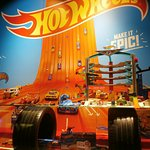 Hot Wheels window display