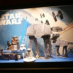 Star Wars window display