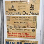 Newspapers Celebrate Lunar Landing
