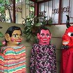 Mascaradas en zona de paso del hotel