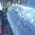 Christmas decoration on C/Larios
