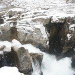 Sunwapta Falls and Canyon Foto