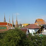View of Wat Pho from our room