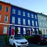 Sheila's Hostel (The darker blue)