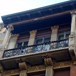 Balcone a loggetta