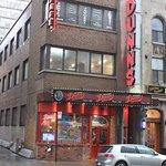 Dunn's Famous, since 1927.