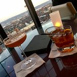 Evening cocktails at The Top of the East