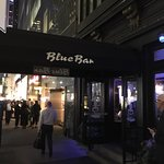 The Blue Bar at the Algonquin Hotel