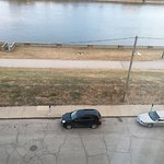 River view.  Street parking