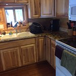 Excuse our mess! This is the kitchen on day 5.