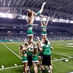 UND Cheer Team at the Alerus!