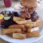 The Lion Burger......