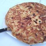 Tortilla en El Rincón del Jabugo
