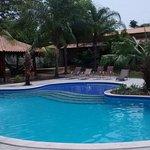 Vista da nova piscina da Pousada Surucuá - Bonito/MS
