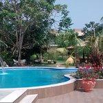 Nova piscina da Pousada Surucuá - Bonito/MS