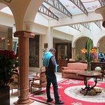 hotel lobby sitting room