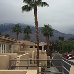 View towards Mt. San Jacinto on one of the rare rainy days.