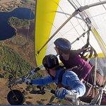 Hang Gliding over Lake County