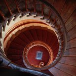 Love the stately spiral staircase. Exquisite workmanship.
