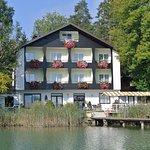 Pension Haus am See Vorderansicht Seeseite