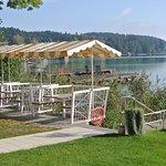 Pension Haus am See Sitzmöglichkeiten am See
