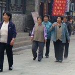 Touristes du troisième âge...