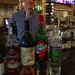 Mark, the bartender