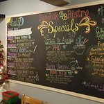 There are always fun and creative specials on the board.