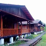 View of the bungalows