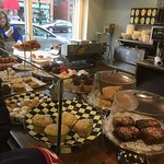 Skaneateles Bakery - cookie counter