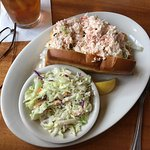 Blue Water Grill - crab & lobster sandwich