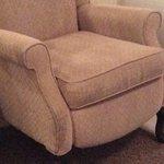 Dirty rundown chair
