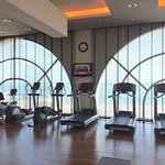 Exercise room at the Sofitel Al Khobar The Corniche